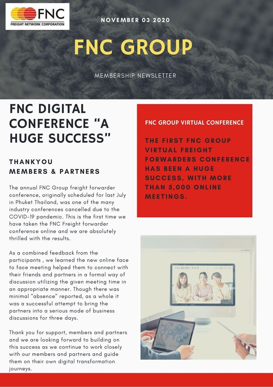 FNC Group™ Premium Logistics Network